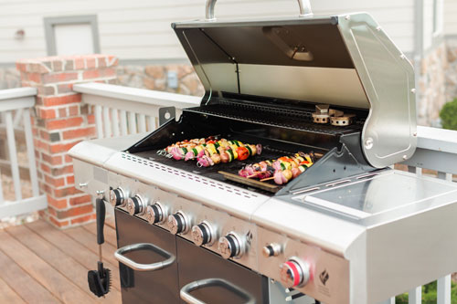 How to use a propane gas grill